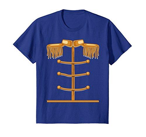 Kids Charming Prince Easy Cosume Shirt - Funny Halloween Gift Tee 8 Royal (Prince Charming Halloween Outfit)
