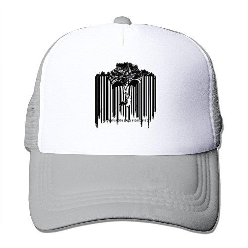 custom-casual-snapback-barcode-graffiti-trucker-cap-hats-ash