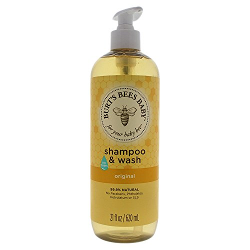 Burt's Bees Baby Shampoo & Wash, Original Tear Free Baby Soap - 21Ounce Bottle