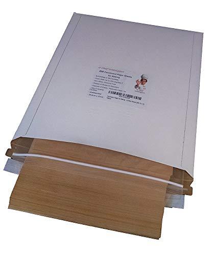 Unbleached Parchment Paper Baking Sheets, 200 Pcs, 8.2 x 12.2, for Quarter Sheet Pans (200, 8 x 12)