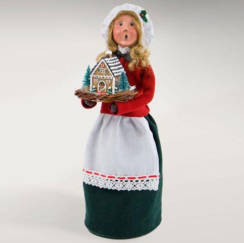 Byers' Choice Woman w/ Gingerbread #4461D