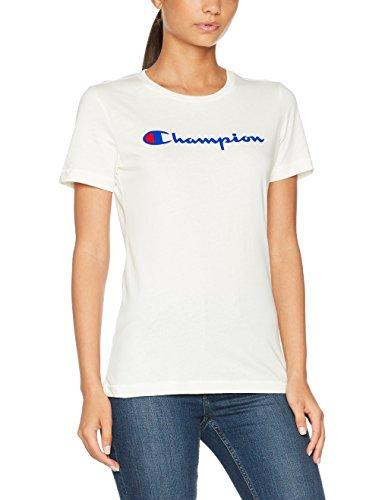 6cfe077a3d3 Champion Crewneck T-Shirt-Institutionals Femme  Amazon.fr  Vêtements et  accessoires