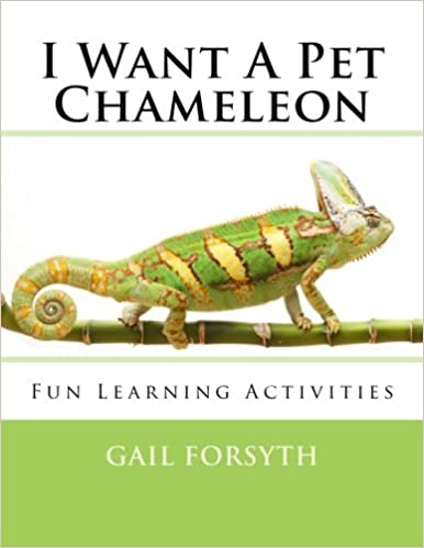 Book I Want A Pet Chameleon
