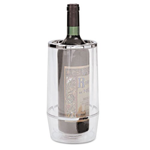 Adcraft Acrylic Wine Bucket, Round, Clear - Includes one each.