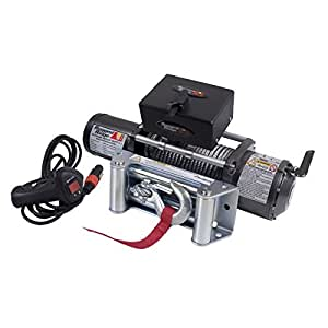 Rugged Ridge 15100.01 8,500Lb Winch with Steel Cable