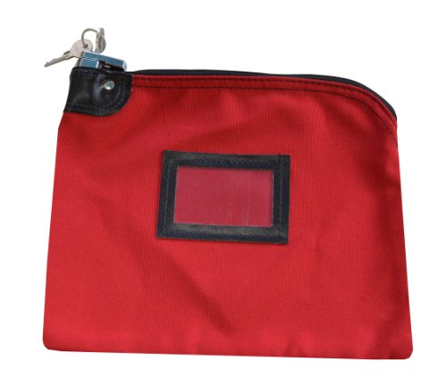 Canvas Locking Bank Bags - 1