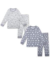 100% Organic Cotton Unisex Pajamas 4 Piece Pajama Sets - 100% Organic Cotton (Infant/Toddler)