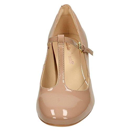 Clarks Zapato de Corte de Orabella Helecho Mujer T Beige