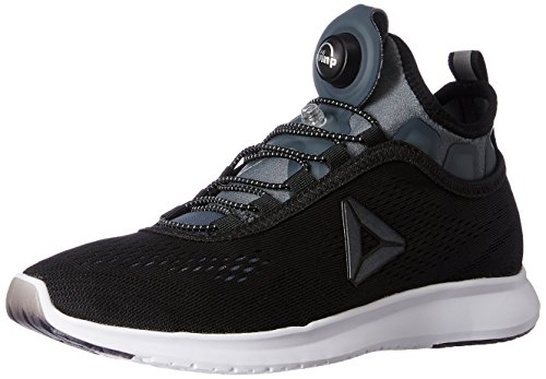 Reebok Damen Pump Plus Tech Laufschuhe Schwarz (Nero Black/Alloy/White/Silver Met)
