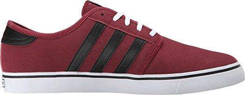 Scarpe Da Tennis Adidas Seeley Burgundy / Nero / Bianco Sneaker 5.5 D (m)