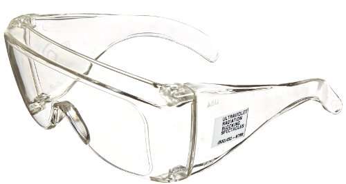 UVP 98-0002-01 Model UVC-303 Polycarbonate UV Blocking Spectacles Eyewear for Shortwave UV Light - Models Spectacles