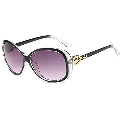 de et cent Unis soleil de et lunettes le visage États Aoligei de lunettes de Europe aux soleil femmes modèle tendances soleil B mode même lunettes XIUwPq1
