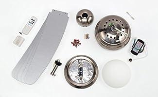 Westinghouse Lighting Bendan Ventilador de Techo R7s, 80 W, Aspas ...