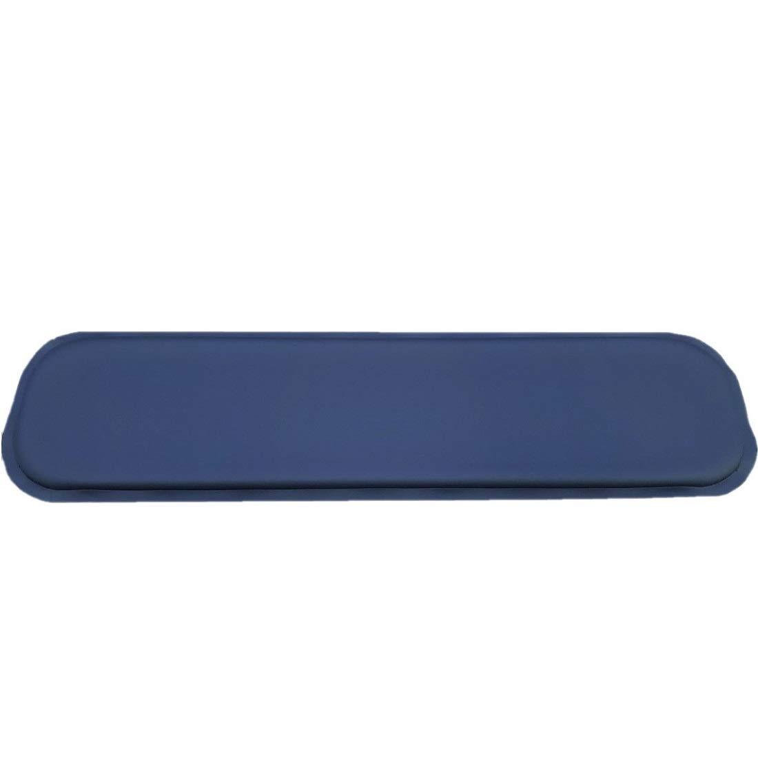ULTRAGEL''Gaming'' Super Comfy Arm/Elbow/Wrist Rest Gel Pad (Lap Top 4.5x15.5, Blue)