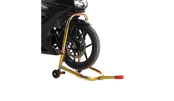 Pit Bull Hybrid Headlift Motorcycle Stand Steering Stem Lift w//Fixed Handle; Lift Sport Bikes from Triple Tree