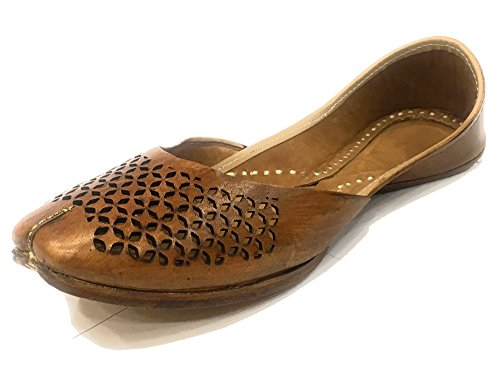 Step n Style Punjabi Jutti Khussa Shoes Indian Shoes Ballerina Ballet Casual Shoes BQ9hE3S