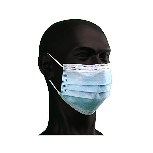 100-Stck-medizinische-Einwegmaske-Mundschutz-Op-Masken-Schutzmaske-3lagig-MNS-Typ-2R-blau