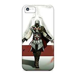 Scratch Protection Cell-phone Hard Covers For Iphone 5c With Allow Personal Design Lifelike Assassins Creed 2 Series Nice-cheap-cases