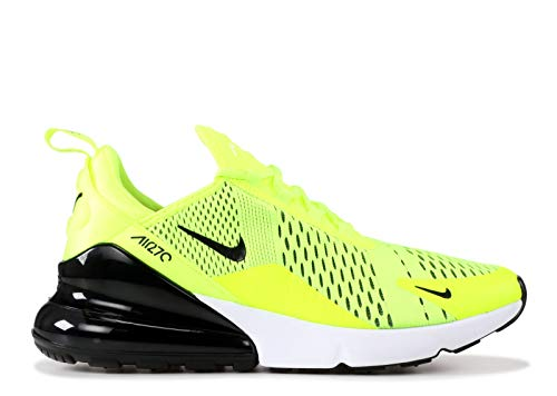 Pictures of NIKE Men's Air Max 270 Volt/Black-Dark Grey-White 4