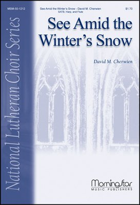 See Amid the Winter's Snow(Choral Score) - Harp, Flute - Choral Sheet Music