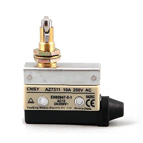 SODIAL(R) 1pcs AZ-7311 SPDT 1NO 1NC Snap Action Roller Plunger Limit Switch