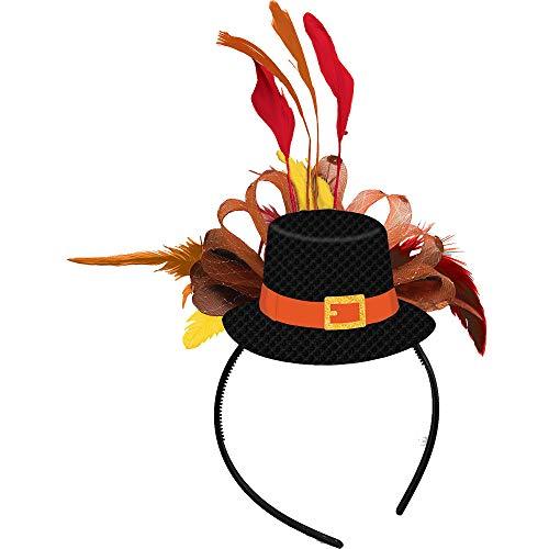 Amscan Thanksgiving Pilgrim Fashion Headband | Party Accessory