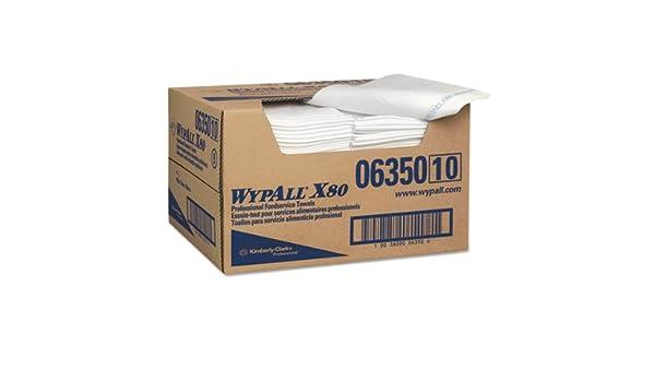 Amazon.com: X80 Foodservice Paper Towel, Spunlace, 13 1/2 X 24, White, 150/carton: Industrial & Scientific