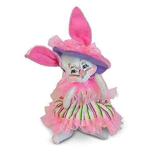 Annalee - 6in Easter Parade Girl Bunny (Easter Parade Bunny)