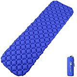 MOON LENCE Sleeping Pad for Camping Backpacking Ultralight Compact Air Pad Inflatable Lightweight