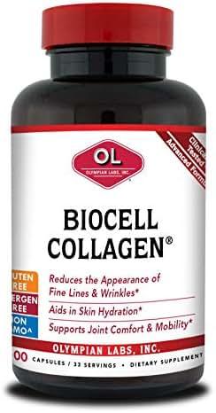 Olympian Labs Biocell Collagen II, 1500mg