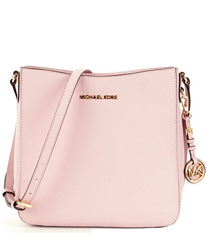 9953b657a Michael Kors Jet Set Travel Large Saffiano Messenger Bag, Blossom - Buy  Online in UAE. | Shoes Products in the UAE - See Prices, Reviews and Free  Delivery ...