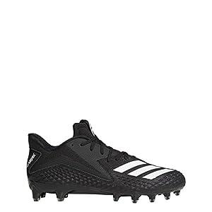 adidas Performance Men's Freak x Carbon Football Shoe, Black/White/Black, 9.5 M US