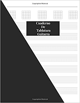 Cuaderno De Tablatura Guitarra: Guitarra Seis Cuerdas: Spanish Edition 200 Paginas Con Ancho De 8.5 x 11: Amazon.es: Pleiades Notebooks: Libros en idiomas ...