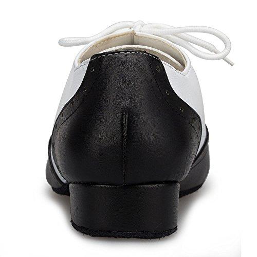 Miyoopark , Salle de bal homme - blanc - Black/White-2.5cm heel,