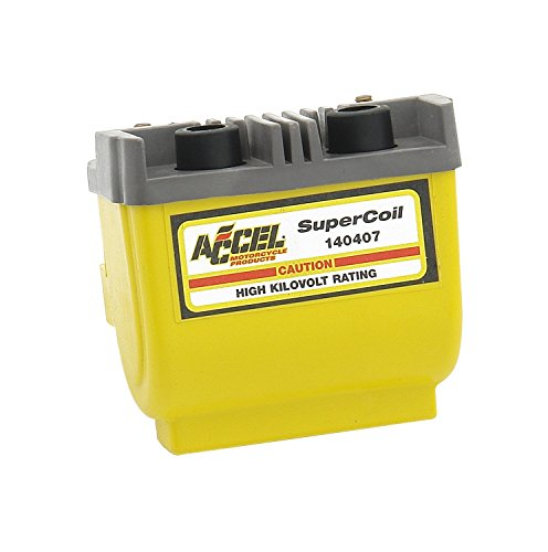 Dual Dyna Coil (ACCEL 140407 Dual Fire Yellow Super Coil)