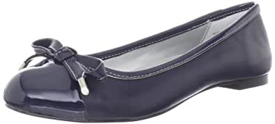 Bandolino Women's Genie Flat,Dark Blue,6 M US