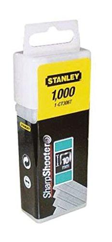 Stanley 1-CT305T Agrafe plate 8 mm 5/16' Boî te 1000 piè ces