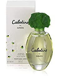Cabotine Women Eau De Toilette Spray by Gres, 3.4 Ounce