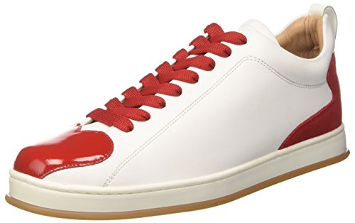 Twinset Cs8tfn Multicolore bianco Femme Milano rosso Basses Sneakers Ottico BFwnpSB1