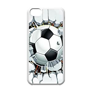 New Fashion Cover Case for iphone 4s with custom Soccer Ball