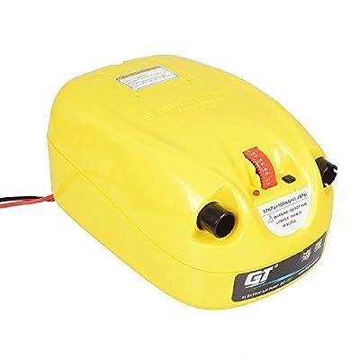 eakkans Portable Air Compressor Inflatable Boat Blower 20A 80 kpa Electric Air Pump 12V