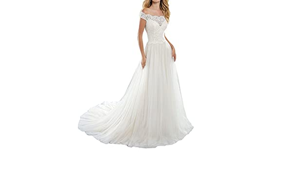 Vweil Vintage Inspired Vestidos De Novia 2018 Sheer Lace Bridal Wedding Gowns With Sleeves VD46 at Amazon Womens Clothing store: