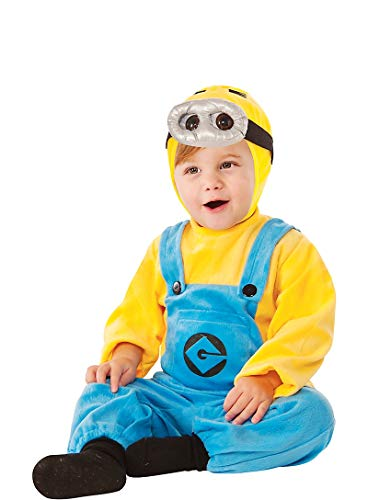 HalloCostume Baby Dave Minion Costume - Despicable Me 2; Baby-Toddler-Costume -