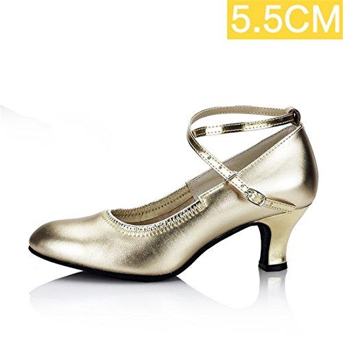 Latino Molto Wxmddn 5 Adulto Soft Da Di Ballo La e36 Stagioni Cm 5 Ballo Scarpe Golden Il Danza O4wrqOz