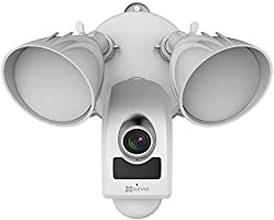 EZVIZ LC1 Full HD 1080p Wi-Fi Outdoor Floodlight Camera with PIR