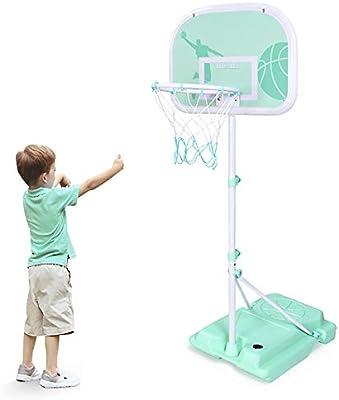 ZZLYY Ajustable Cancha de Baloncesto Infantil,Portátil Mini ...