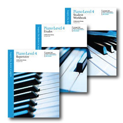 Celebration Series Perspectives Piano Level 4 - Three Book Set - Includes Repertoire, Etudes, and Student Workbook