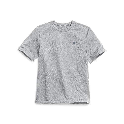 Champion Men's Double Dry Tee, Oxford Gray, Small ()