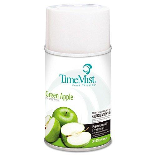 (ZEP 1042694 Metered Fragrance Dispenser Refills, Green Apple 6.6 oz, 12/Carton)