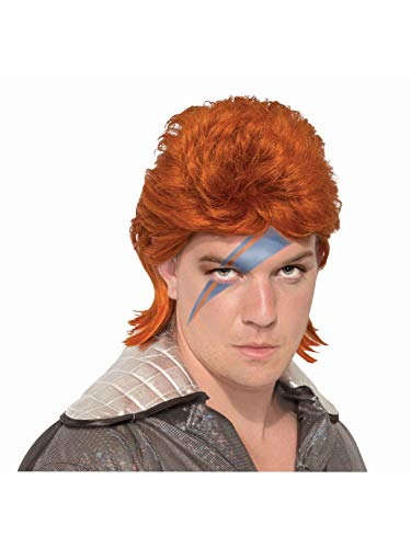 Forum Novelties 80s Orange Bowie Rock Star